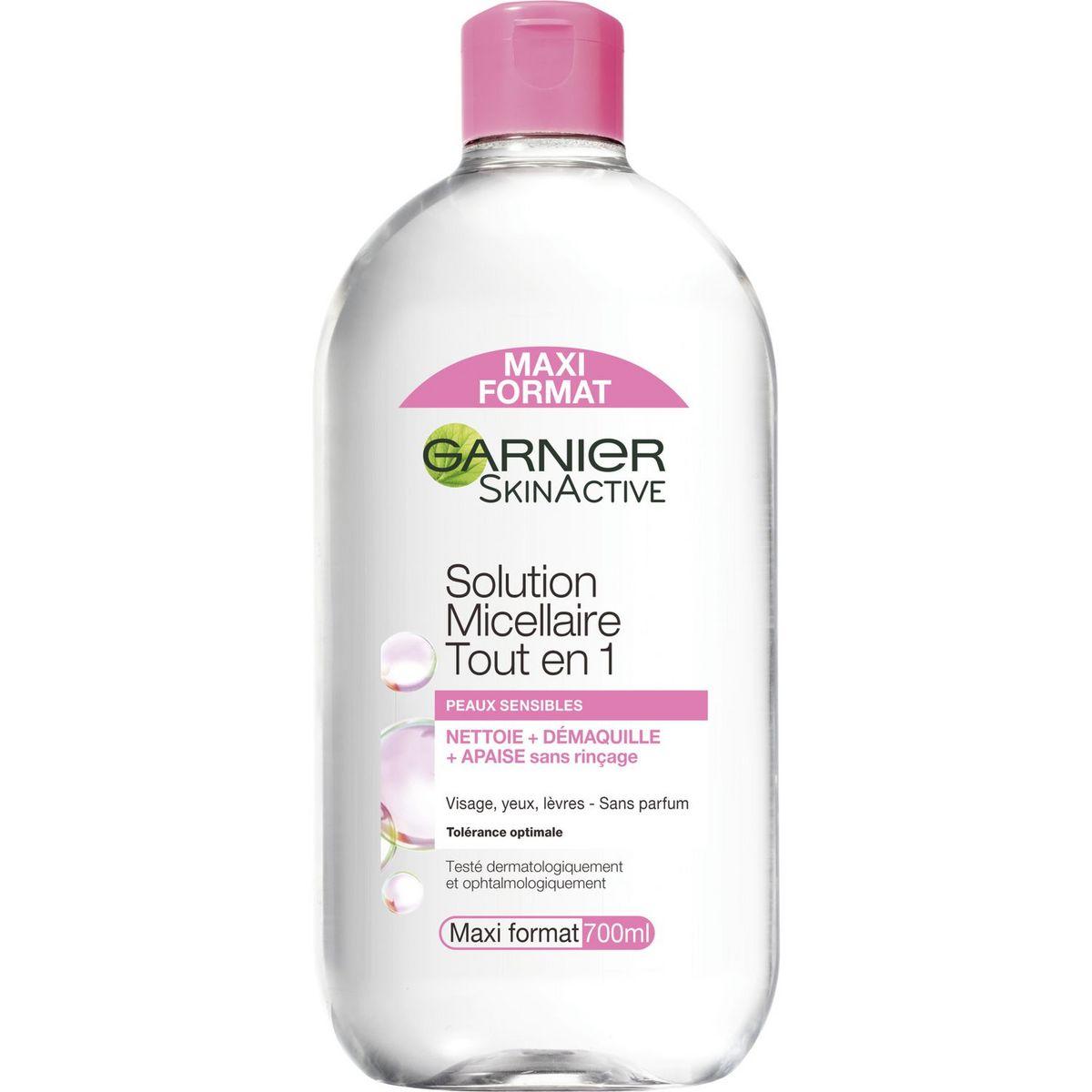 Garnier SkinActive solution micellaire peaux sensibles 700ml