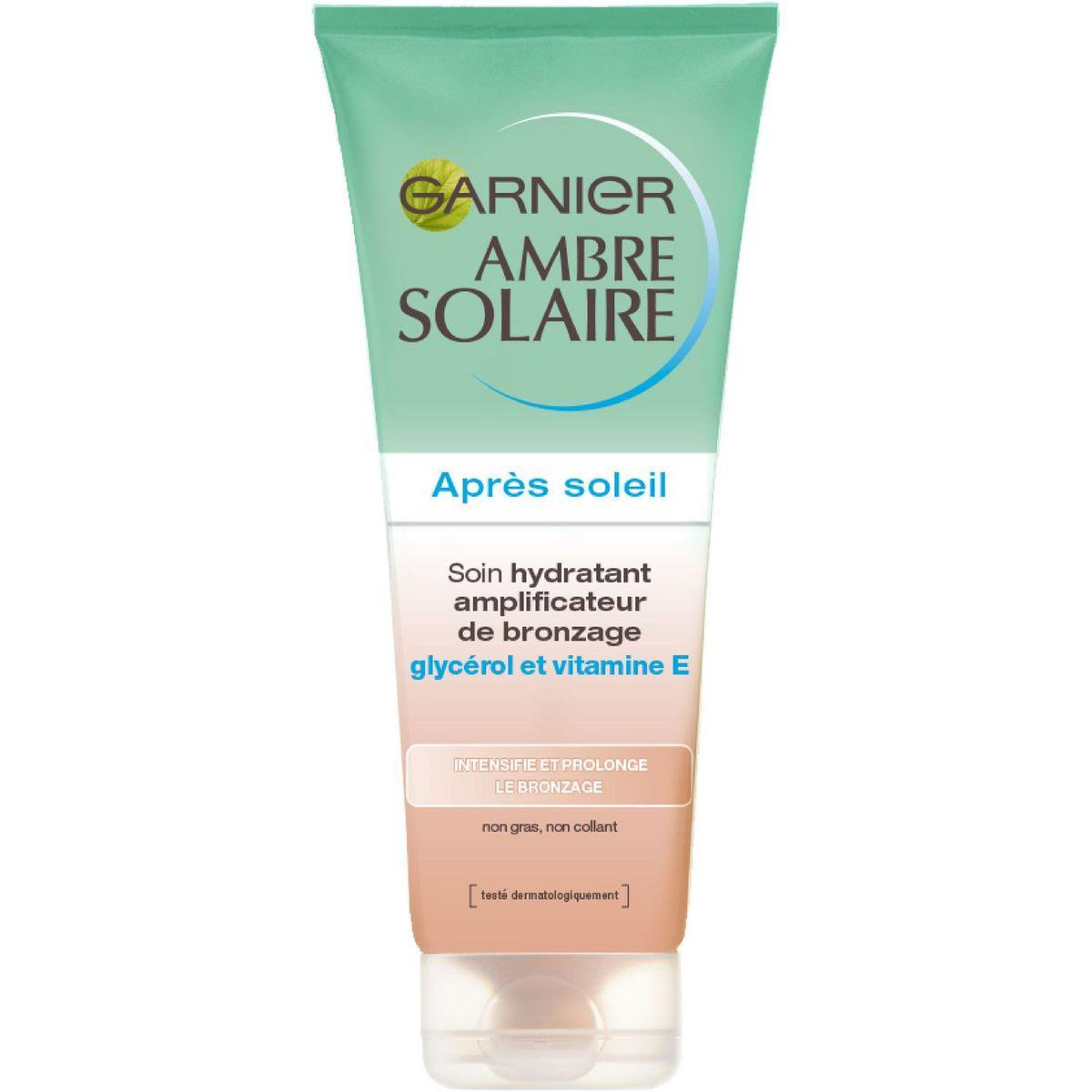 Garnier Ambre Solaire soin après soleil amplificateur de bronzage 200ml