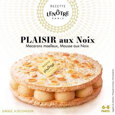 LENOTRE Gâteau aux macarons moelleux et mousse de noix 6-8 parts 410g