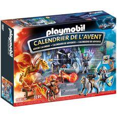 Playmobil Calendrier de l'avent jouet duel de chevaliers 70187
