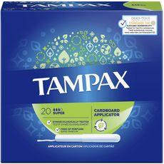 TAMPAX Tampax tampons classique super avec applicateur  x20