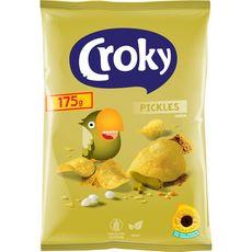 Croky CROKY Chips saveur pickles