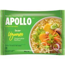 APOLLO Nouilles asiatiques instantanées aux légumes 85g