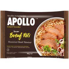 APOLLO Nouilles asiatiques instantanées saveur bœuf rôti 85g