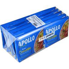 APOLLO Nouilles asiatiques instantanées saveur crevettes 7+3 offerts 10x85g
