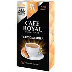 Café Royal CAFE ROYAL Capsules de café petit déjeuner compatibles Nespresso
