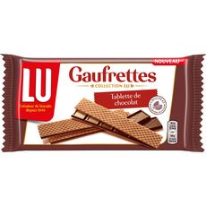 LU Gaufrettes fourrées avec une tablette de chocolat noir 92g
