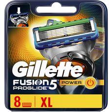 GILLETTE Fusion5 Proglide recharge lames de rasoir 8 recharges