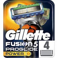 GILLETTE Fusion5 Proshield Power recharge lames de rasoir 4 recharges