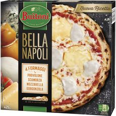 BUITONI Pizza bella napoli 4 fromages 425g