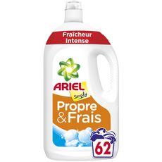 ARIEL Lessive liquide fraîcheur intense 62 lavages 3,41l