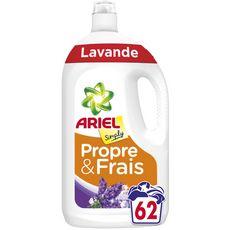 ARIEL Lessive liquide lavande 62 lavages 3,41l