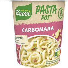 KNORR Pasto pot' Pâtes à la carbonara 1 personne 71g