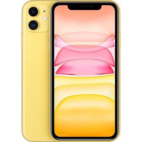 APPLE iPhone 11 64 Go 6.1 pouces 4G Jaune NanoSim et eSim