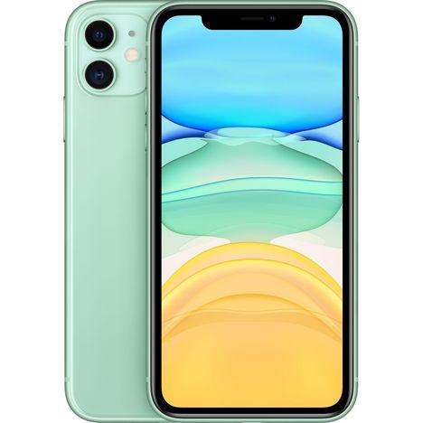 APPLE iPhone 11 64 Go 6.1 pouces 4G Vert NanoSim et eSim