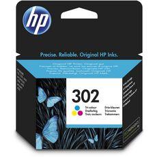 HP Cartouche d'Encre HP 302 Trois Couleurs Authentique (F6U65AE)