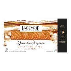 LABEYRIE Labeyrie Saumon fumé boisé d'Ecosse tranché x8 280g 8 tranches 280g