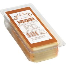 Fromage à raclette nature 400g 400g