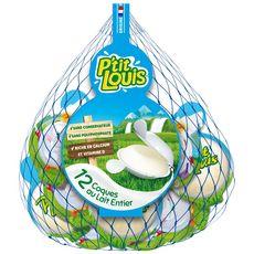 PTIT LOUIS Fromage au lait pasteurisé 12 portions 240g