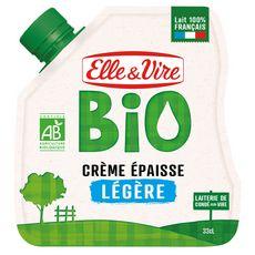 ELLE & VIRE Crème légère épaisse bio 33cl