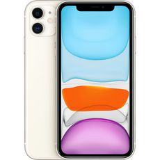 APPLE iPhone 11  128 Go 6.1 pouces 4G Blanc NanoSim et eSim