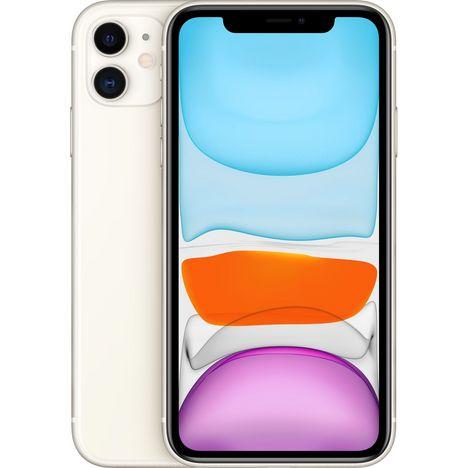 APPLE iPhone 11  256 Go 6.1 pouces 4G Blanc NanoSim et eSim
