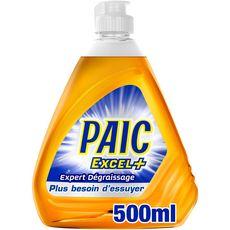 PAIC Liquide vaisselle expert dégraissage 500ml