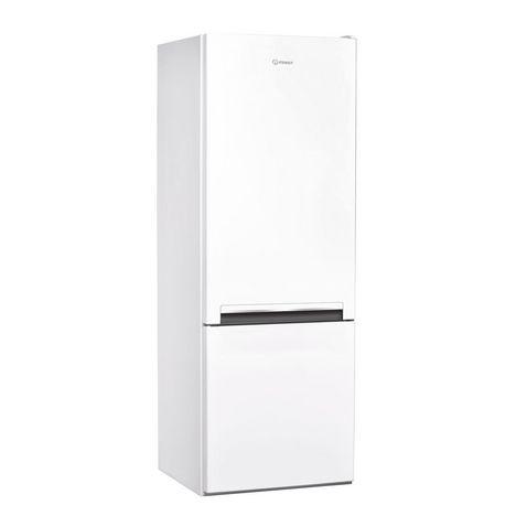INDESIT Réfrigérateur combiné LI6S1EW, 272 L, Froid statique