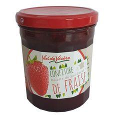 Val de Vézère Confiture de fraise 370g
