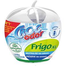CROC ODOR Désodorisant frigo XL gel aux algues naturelles 1 désodorisant 140g