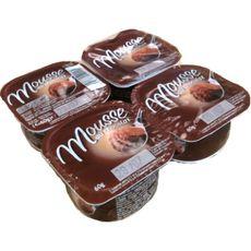 Mousse au chocolat 4x60g