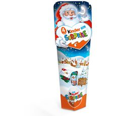 KINDER Surprise Spécial décoration Noël 4 œufs 80g