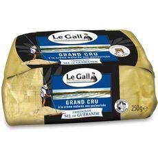 LE GALL Beurre de baratte cristaux de sel de Guérande 1 pièce 250g