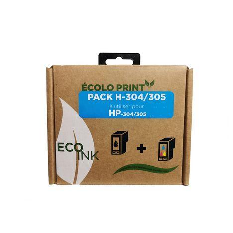 ECO INK Recharge de cartouche Ink HJ304 ECO