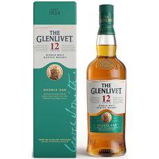 THE GLENLIVET Scotch whisky single malt 40% 12 ans Avec étui 70cl