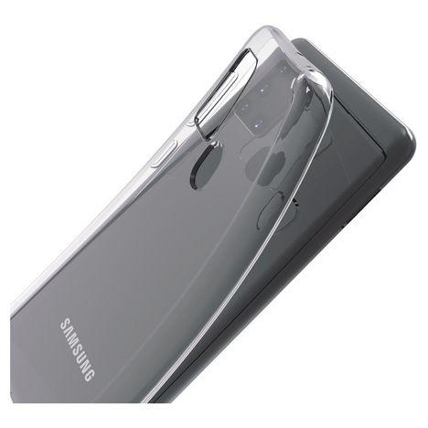 QILIVE Coque pour Samsung Galaxy A21s - Transparent