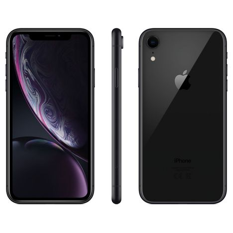 APPLE iPhone Xr  64 Go 6.1 pouces 4G+ Noir NanoSim et eSim