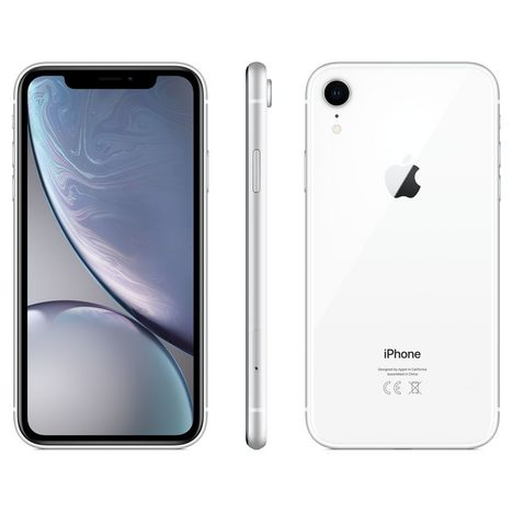 APPLE iPhone Xr  64 Go 6.1 pouces 4G+ Blanc NanoSim et eSim