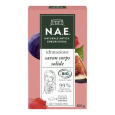 N.A.E Savon solide hydratant pour le corps Bio et végan 1 pièce 100g