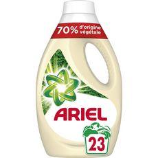 ARIEL Lessive liquide d'origine 70% végétale 23 lavages 1,265l