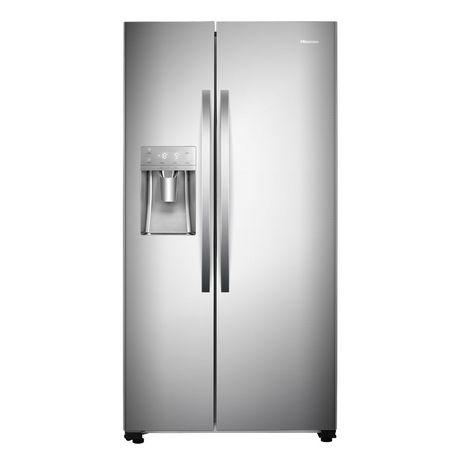 HISENSE Réfrigérateur américain FSN535KFI, 562 L, Froid ventilé