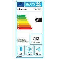 HISENSE Réfrigérateur 2 portes FTN250FFD, 249 L, Froid ventilé