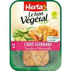 HERTA Carré gourmand végétal à la tomate et mozarella 2 pièces 160g