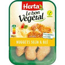 HERTA Nuggets végétal de soja et blé 200g