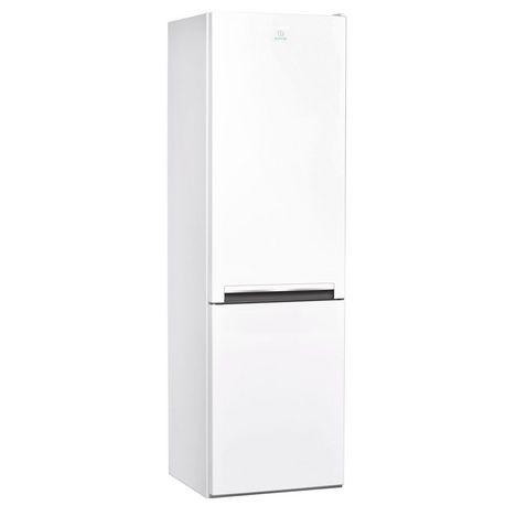 INDESIT Réfrigérateur combiné LI7S1EW, 308 L, Froid Statique