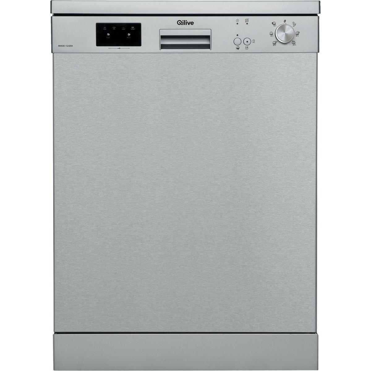 Lave vaisselle non encastrable Q.6254, 12 couverts, 59.8 cm, 45 dB, 6 programmes