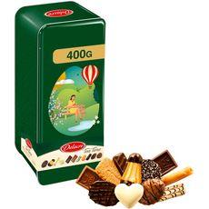 DELACRE Tea time Assortiment de biscuits  400g