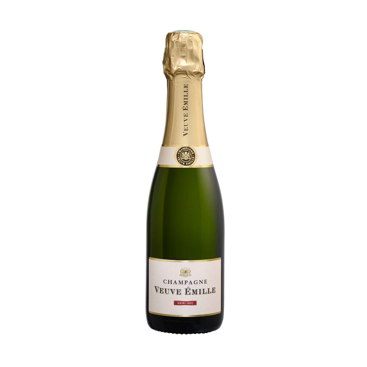 AOP Champagne demi-sec demi-bouteille
