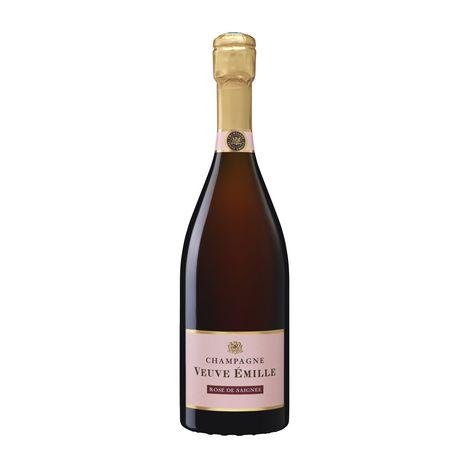 VEUVE EMILLE Veuve Emille Champagne Rosé de Saignée