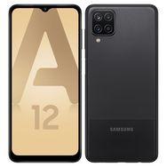 SAMSUNG Smartphone Galaxy A12  4G  64 Go  6.5 pouces  Noir  Double NanoSim